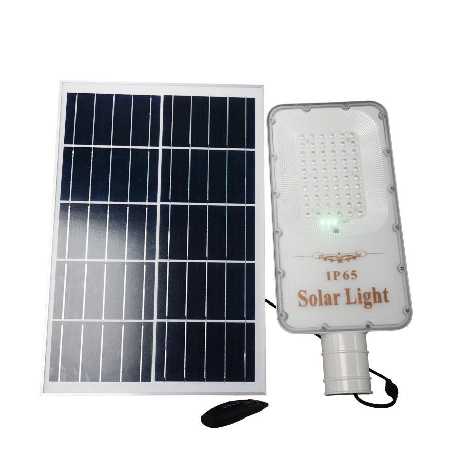 Đèn đường năng lượng mặt trời 200W cao cấp Roiled E-200W ánh sáng trắng chiếu sáng sân vườn