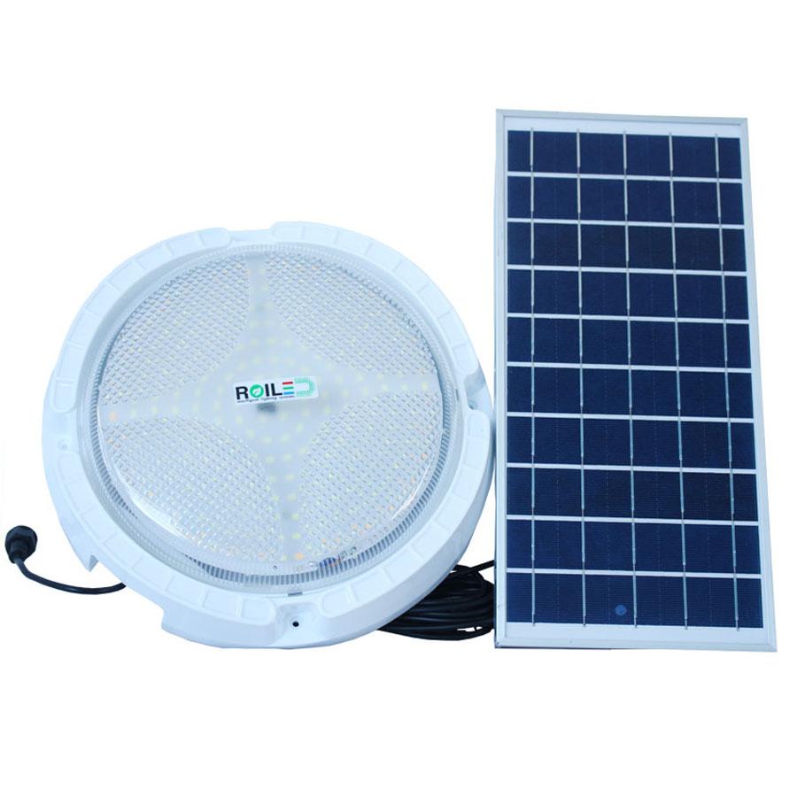 Đèn led ốp trấn năng lượng mặt trời 40W cao cấp Roiled RO-40W bảo hành 2 năm