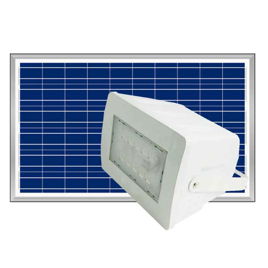 Đèn pha năng lượng mặt trời 120W cao cấp Bluecarbon BCT-FL 120W, ánh sáng trắng bảo hành 5 năm