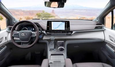 Toyota Siena 2021 Platium Hybrid Full Option