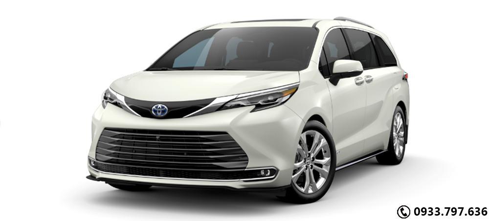 Toyota Siena Platium  2021 2.5L Hybrid Full Options