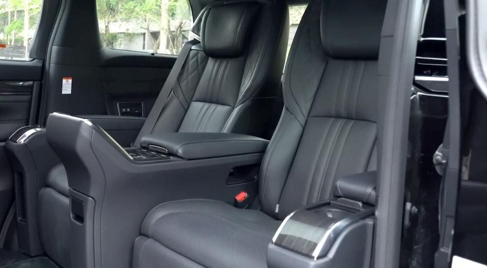 nội thất Lexus LM300H 2021 7 chỗ