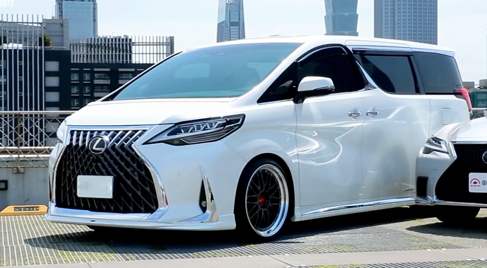 lexus lm300h 4 chỗ 2021